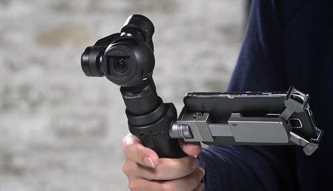 Tony Northrup Reviews the 4K DJI Osmo Handheld Gimbal