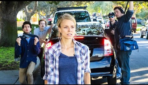 Behind the Scenes on the First Film Shot Entirely with the Prius Backup Camera
