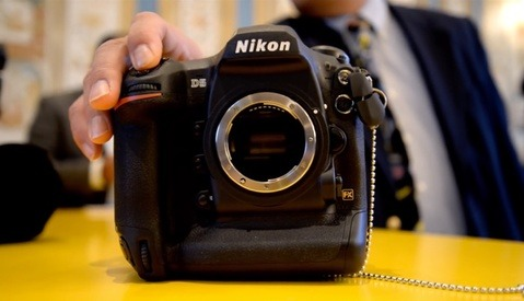 See the Nikon D5's Blazing Fast Shutter at Full Speed
