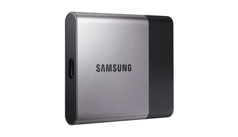 Samsung Announces 450MB/s Super Portable SSD T3