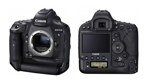 Canon Announces the EOS-1D X Mark II: 20MP, 4K60p Video, ISO 409,600, and CFast 2.0