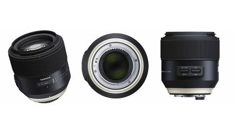 Tamron Announces 85mm Portrait and 90mm Macro Lenses With Vibration Compensation, Lens Console