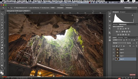 How to Use Multiple Exposures in Photoshop to Reduce Noise While Retaining Detail