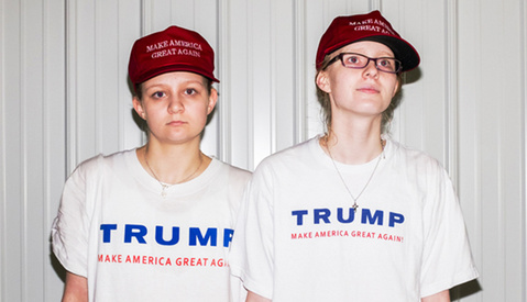 The Faces of Trump and Sanders Supporters Captured By Photographer