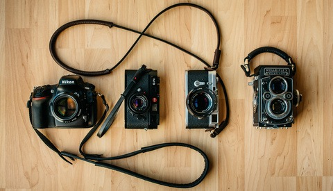 Living With Deadcameras and Their Custom Handmade Camera Straps