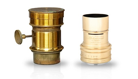 The Lomography Daguerreotype Achromat 2.9/64 Art Lens