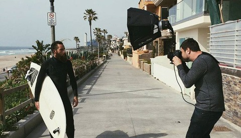 How a Los Angeles Portrait Photographer Sidesteps On-Location Photoshoot Laws