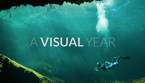 A Visual Year in Under Two Minutes
