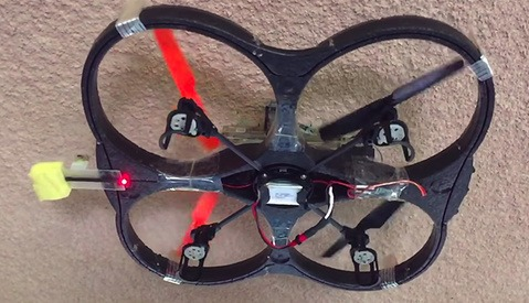 Turning Drones Into Spiderman