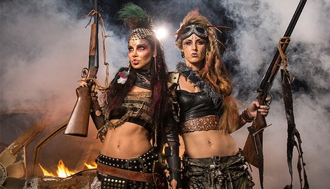 Behind the Scenes of Mad Max Styled Fantasy Portraits