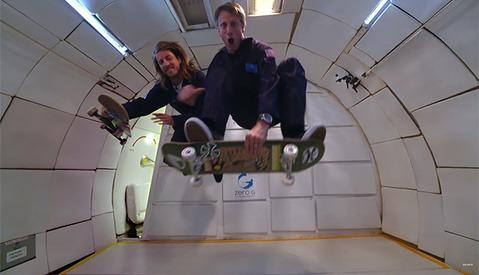 Sony and Tony Hawk Create a Zero Gravity Skateboarding Shoot