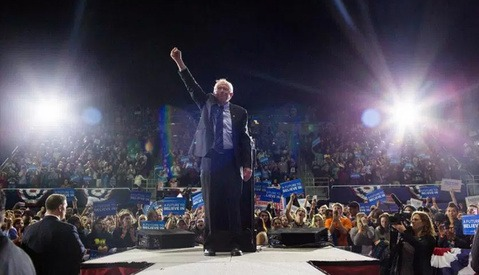 'Trying to Show Him as President': Meet Bernie Sanders' Photographer