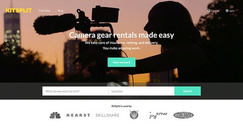KitSplit Is a Gear Rental and Listing Site That Will Do Anything You Don't Want to Do Yourself