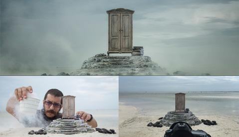 Behind the Scenes of Felix Hernandez's Fine Art Concept 'The Wardrobe'