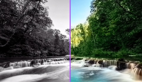 Deep Learning Algorithm Automatically Colorizes Photos