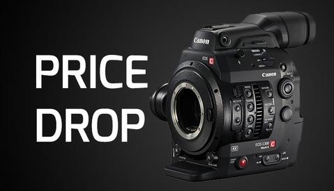 Major Price Drop on the Canon C300 Mk II, C100 Mk II, and Cine-Servo Lens