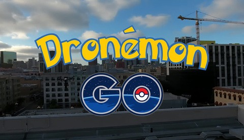 'Dronemon Go' Uses DJI Inspire to Catch Em All On New Pokemon Go