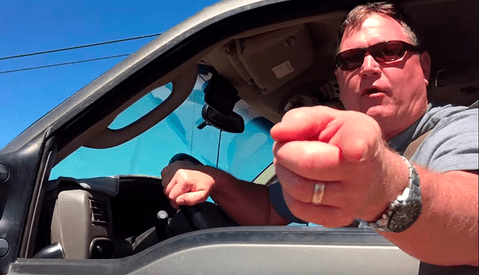 Man Who Nearly Ran Over Photographer Arrested, Charged With Felony