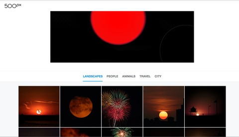 Splash From 500px Lets You Search Images by Color