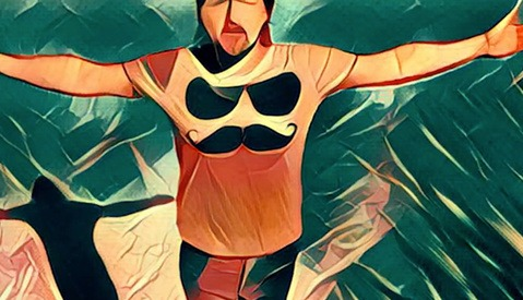 What a Music Video Using the iPhone App Prisma Looks Like