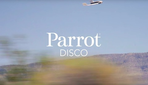 The Parrot Disco Is a Drone You Can Fly in First Person View for HD Video