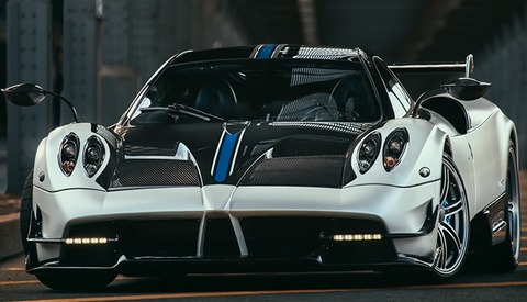 Richard Thompson on Photographing a Pagani Huayra BC