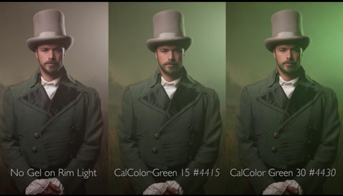 Exploring Rim Light Gels With The Slanted Lens