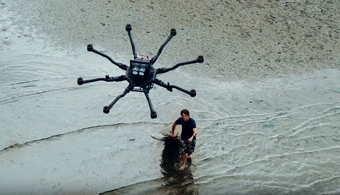 Using a Drone to Surf? 'Dronesurfing' Is Actually a Thing, and It Looks Awesome