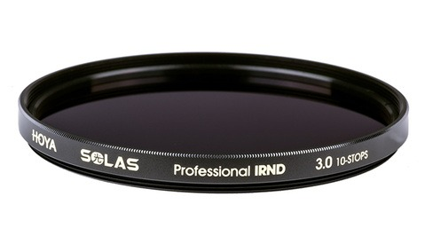 Hoya Introduces New Solas Infrared Neutral Density Filters