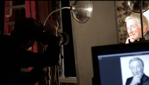 Behind the Scenes of Mark Seliger Photographing Tony Bennett's 90th Birthday