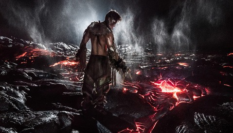 Von Wong Photographs Model on Lava in Latest Project