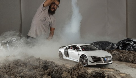 Photographer Uses Toy Model Audi R8 For Epic Shoot | Fstoppers