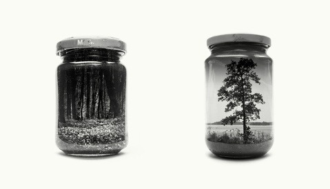 Fascinating Jarred Landscapes by Photographer Christoffer Relander