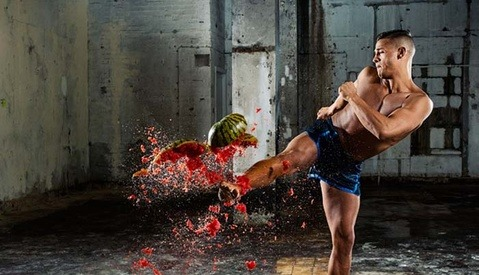 Epic High-Action Nikon D500 Campaign Involves Smashing Messy Fruit