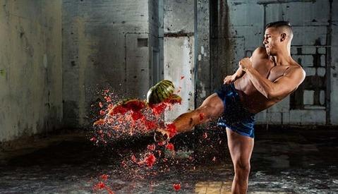 Epic High-Action Nikon D500 Campaign Involves Smashing Messy Fruit