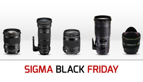 Sigma Black Friday Instant Savings — Up to $300
