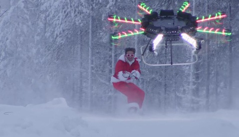 Casey Neistat Literally Soars to New Heights With His Human-Flying Drone