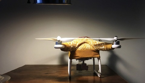 Get Ready to Look Good While Flying, Because Drone Sweaters Are a Thing