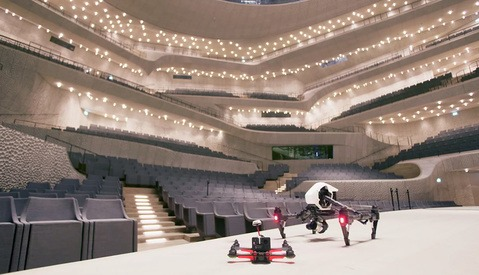 Check Out This Video Tour of a Stunning Concert Hall Using Drones