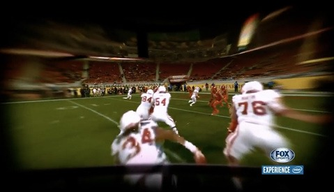 FOX Sports Works With Intel to Create Virtual Helmet Cameras for Super Bowl