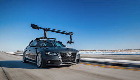 MotoCrane, the World's First Universal Automotive Camera Crane System
