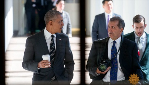 President Obama and Pete Souza Speak About Eight Years of Photographs