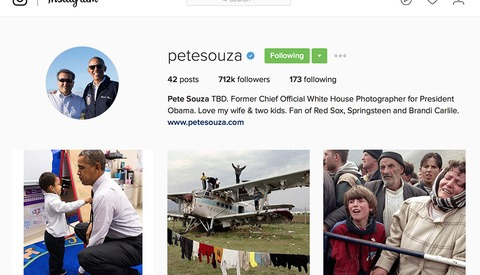 Former White House Photographer Pete Souza Is Still Working for the American Public