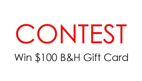Share Your Best Wedding Image for a Chance to Win a $100 B&H Gift Card