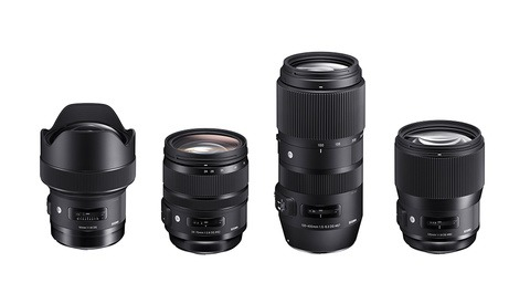 Sigma Releases All the Full-Frame Lenses We've Been Waiting For: 135mm f/1.8, 14mm f/1.8, 24-70mm OS, and 100-400mm OS