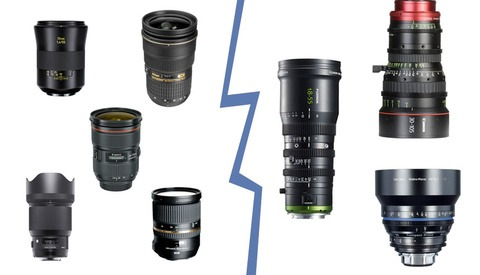 What Is the Difference Between Cinema and Still Lenses?