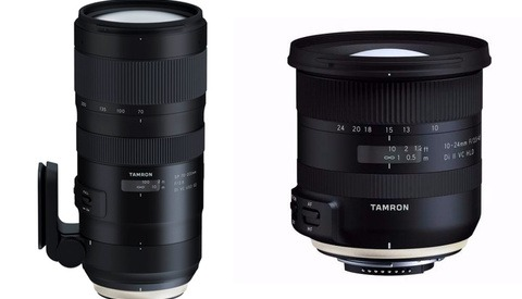 Tamron Announces New Ultra-Wide and Tele-Zoom Lenses