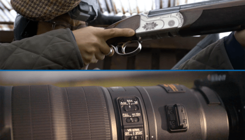 Target Practice: 600mm Lens vs Shotgun