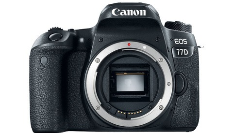 The Canon 77D is Available and Shipping