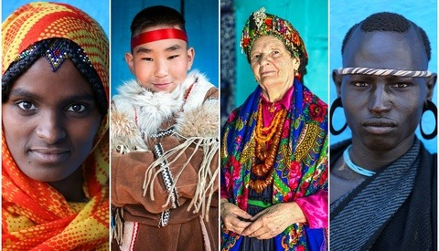 Photographer Travels 80+ Countries to Capture The World in Faces